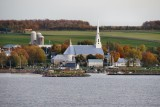 Church by the St. Lawrence river