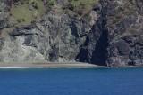 Haiti beach and boater