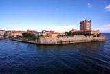 Willemstad bayfront walls