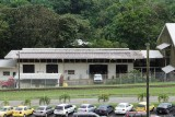 Panama Canal maintenance buildings