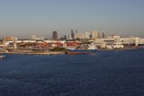 Ft. Lauderdale morning, debarkation time