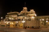Main Street Station at night