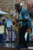 Burudika sax player