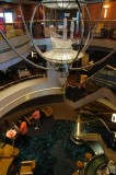 Westerdam's Atrium lobby