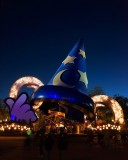 DHS 'Big Hat' at blue hour