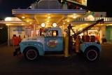 Oscar's truck at night