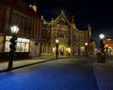 UK Street at night