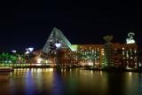 Dolphin Resort Hotel - night