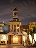 Frontierland Town Hall at night