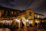 Pecos Bill at night