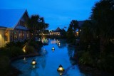 Night scene at Disney Springs