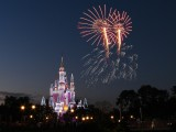 Cinderella's Castle during Wishes