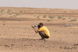 Olof documents African Dunn's Lark
