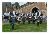 Antwerp District and Pipe Band