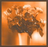 Diffuse orange glow