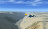 Flight Arequipa to Nazca, Peru