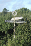a traditional fingerpost