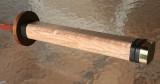 handle of a bokken