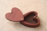 heart shaped trinket box