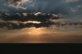 sunset at Spurn National Nature Reserve
