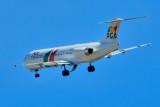 Portugalia F100, CS-TPC Final Approach