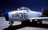 FAP-Portuguese Air Force Sabre 361, Wonderful Light