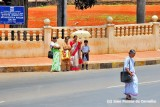 Catholic Nun Crossing The Road, Indians Looking