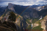 Glacier Point Rainbow