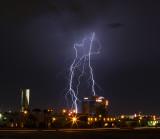 Las Vegas Palms Lightning