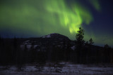 Auroras Whitehorse Peak