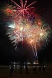 Newport Pier Xmas Fireworks