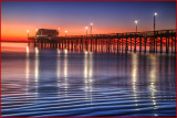 Newport Pier Sunset
