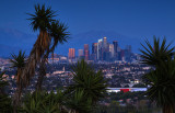 L A Skyline Twilight