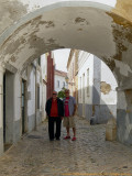 2017 - Ken and I in Vila Adentro - Faro, Algarve - Portugal