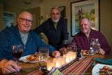 2017 - Diner at Vincent Miller home - Wasaga, Ontario - Canada