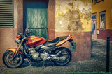 2017 - Honda Hornet, Rua Dom Carlos - Funchal, Madeira - Portugal
