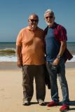 2017 - Ken & John - Praia de Faro, Algarve - Portugal