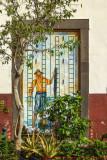 2017 - Rua de Santa Maria, Painted Doors (Arte Portas Abertas) - Funchal, Madeira - Portugal