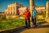 2017 - Ken & John at the Pousada Palácio de Estói - Faro, Algarve - Portugal