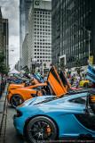 2017 - McLaren, Bloor Yorkville Exotic Car Show - Toronto, Ontario - Canada