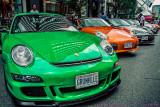 2017 - Porsches, Bloor Yorkville Exotic Car Show - Toronto, Ontario - Canada