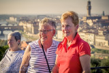 2017 - Theresa & Mary Frances - Florence, Tuscany - Italy
