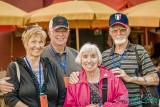 2017 - Carolynn, Frank Weatherbie & Dorothy, Frank Pineau, Piazza del Campo - Siena, Tuscany - Italy