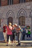 2017 - Denise, Reg, Mary Frances, Jean & Jackie, Piazza del Campo - Siena, Tuscany - Italy