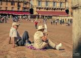 2017 - Beverlea & Fred, Piazza del Campo - Siena, Tuscany - Italy