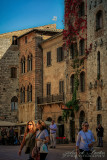 2017 - Piazza della Cisterna - San Gimignano, Tuscany - Italy