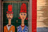 2018 - Rua Santa Maria, Painted Doors (Arte de Portas Abertas) - Funchal, Madeira - Portugal
