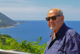 2018 - Ken at the Cabot Trail - Cape Breton, Nova Scotia - Canada