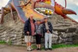 2018 - Thuy Vu, Ginny Dang & Ken in Shediac, New Brunswick - Canada