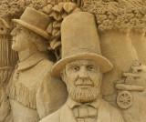 Kentucky Sand Sculpture